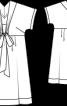 Сукня коктейльна розкльошеного силуету - фото 3