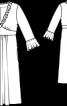 Сукня силуету ампір з V-подібним вирізом - фото 3