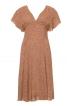 Сукня із завищеною талією і глибоким вирізом - фото 2