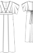 Сукня довга силуету ампір - фото 3