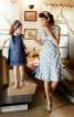 Сукня силуету ампір з глибоким V-подібним вирізом горловини - фото 1