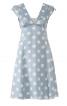 Сукня силуету ампір з глибоким V-подібним вирізом горловини - фото 2