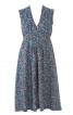 Квітчаста сукня з зав'язками навколо талії - фото 2