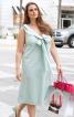 Сукня силуету ампір з діагональними виточками - фото 1