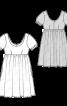 Сукня силуету ампір з глибоким вирізом - фото 3
