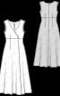 Сукня максі розкльошеного силуету - фото 3