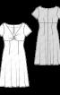 Сукня силуету ампір з драпіровкою на ліфі - фото 3