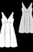 Сукня силуету ампір з глибоким V-подібним вирізом - фото 3