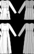 Сукня силуету ампір із розкльошеною спідницею - фото 3