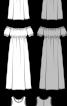 Міні-сукня силуету ампір з рукавами-ліхтариками - фото 3