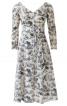 Сукня силуету ампір з рукавами кімоно - фото 2