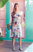 Сукня з видовженою лінією плечей - фото 1