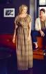 Максі-сукня з рукавами реглан - фото 1