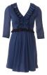 Сукня коротка силуету ампір з оборками - фото 2
