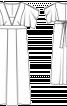Сукня максі з глибоким вирізом - фото 2