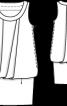 Сукня без рукавів із заниженою талією - фото 3