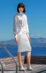 Сукня із суцільнокроєним коміром гольф - фото 1