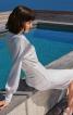 Сукня із суцільнокроєним коміром гольф - фото 4