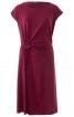 Сукня трикотажна з декоративним вирізом - фото 2