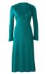 Сукня трикотажна з фігурним ліфом - фото 2