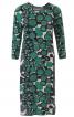 Сукня трикотажна з вирізами на спинці - фото 2