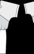 Сукня з креп-сатину з трикотажною спідницею - фото 3