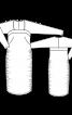 Сукня трикотажна з драпіровками - фото 3