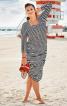 Сукня міді з ефектом болеро - фото 1