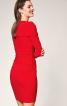 Сукня трикотажна з коміром-хомутом - фото 4