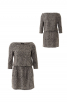 Трикотажна сукня з рукавами 3/4 - фото 2