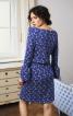 Трикотажна сукня з вирізом човником - фото 4