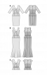 Сукня коктейльна з мереживним топом - фото 3