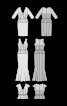 Сукня вечірня з мереживним топом - фото 3