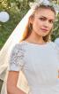 Сукня з рельєфними швами для нареченої - фото 4