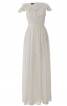 Сукня мереживна з воланами для нареченої - фото 2