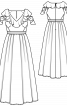 Сукня мереживна з воланами для нареченої - фото 3