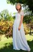 Сукня мереживна з воланами для нареченої - фото 1