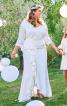 Сукня з воланами для нареченої - фото 1