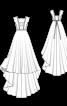 Сукня весільна від австрійських дизайнерів - фото 3