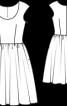 Сукня літня з пишною спідницею - фото 3