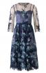 Сукня двошарова з вишитого тюлю - фото 2