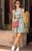 Сукня відрізна зі спідницею-сонце - фото 1