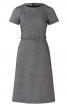 Сукня-футляр відрізна з рукавами-реглан - фото 2