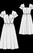 Сукня з пишною спідницею в стилі 50-х - фото 3