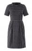 Сукня з рукавами реглан і стоячим коміром - фото 2