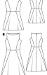 Сукня відрізна без рукавів - фото 3