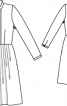 Сукня відрізна з широкою спідницею - фото 3