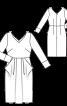 Сукня відрізна з відлітними кишенями - фото 3