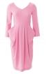 Сукня відрізна з відлітними кишенями - фото 2