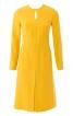 Сукня приталеного крою з вирізом-крапелькою - фото 2